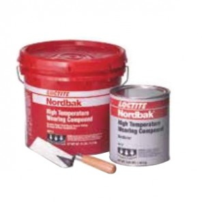 Loctite® Nordbak® 96392 2-Part Ultra High Temperature Wearing Compound, 25 lb, Paste, Part A: Red, Part B: Gray