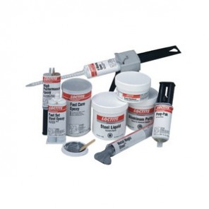Loctite® Fixmaster® 99913 2-Part Steel Putty, 1 lb Tub, Paste, Gray, White, Part A: 2.6, Part B: 1.5