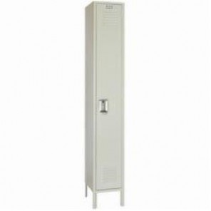 LYON® 5062 Standard Locker With Legs, 78 in H x 15 in W x 18 in D, 1 Tiers, 1 Compartments