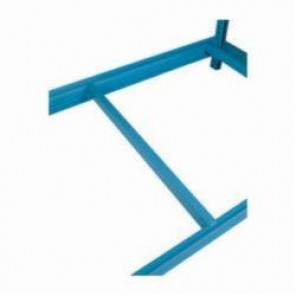 LYON® 65824 Low Profile Front-To-Back Support Beam, 24 in D, 1650 - 3300 lb