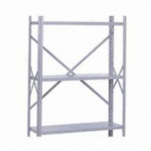 LYON® 8555 Rack Upright Cross Brace, For Use With 8000 Series 12 in D Open Rack End, 6 Per Pack