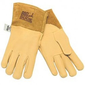 MCR 4984 Big Buck MIG/TIG Deerskin Welding Gloves with Thumb strap