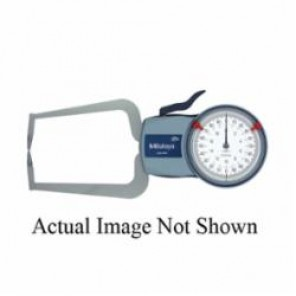 Mitutoyo Series 209 External Inch Dial Caliper Gage 0, 0 to 0.5 in, Graduation 0.005 in