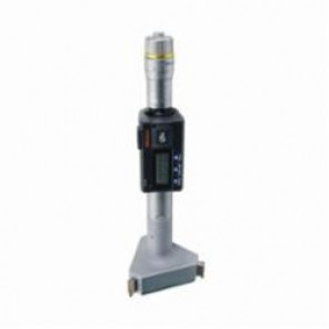 Mitutoyo 468 Digimatic Holtests 3-Point Metric/Inch Internal Micrometer, 88.9 to 101.6 mm/3.5 to 4 in, LCD