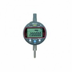 Mitutoyo ABSOLUTE® ID-C 543 Calculation Type Flat Back Metric Digimatic Indicator, 0 to 12.7 mm, 0.003 mm, LCD Display