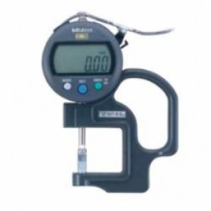 Mitutoyo 547 Metric Digital Thickness Gage, 0 to 10 mm, 30 mm Throat Depth, Steel