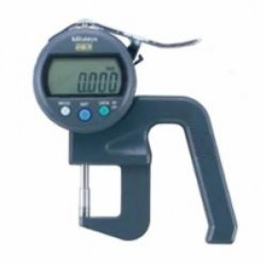 Mitutoyo 547 Metric High Accuracy Digital Thickness Gage, 0 to 12 mm, Ceramic