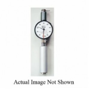 Mitutoyo Hardmatic HH-300 811 Long Leg Shore A Scale Dial Durometer, 10 to 90 HA, 186 mm H x 56 mm W x 33.5 mm D Dial