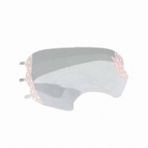 3M™ 051131-07142 Faceshield Cover Lens 6885, For Use With 6000 Series Full Facepiece Respirators, Clear, 25/Bag