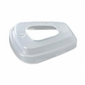 3M™ 501 Filter Retainer, For Use With 5000 and 6000 Series Respirators, Translucent White