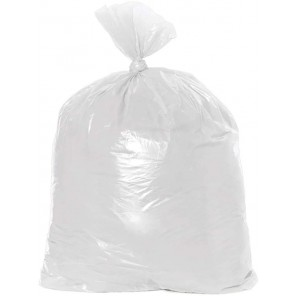 Noramco CSR404816N 45 Gallon Trash Bag Liners, Competitor HDPE Natural, Coreless Roll, 25/Roll, 10 Rolls/Case