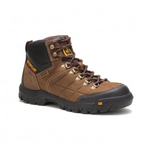 Men's Cat Threshold Waterproof Work Boot