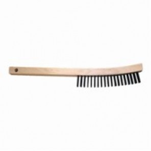 PFERD 89891 Threaded Handle With Metal Tip, 1-1/8 in Dia x 5 ft L, Wood