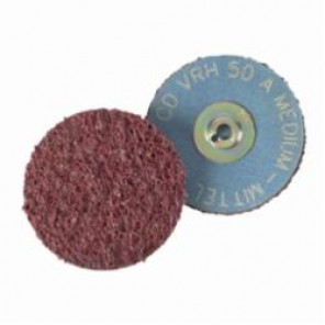 PFERD COMBIDISC® 43176 Hard Non-Woven Surface Conditioning Disc, 1-1/2 in Dia, Coarse Grade, Aluminum Oxide Abrasive
