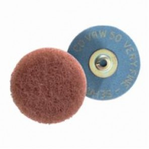 PFERD COMBIDISC® 43203 Soft Non-Woven Finishing Disc, 2 in Dia, Very Fine Grade, Aluminum Oxide Abrasive