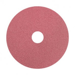 PFERD FS CO Standard Coated Abrasive Disc With Plain Arbor Hole, 4-1/2 in Dia, 7/8 in, 120/Fine, Ceramic Oxide Abrasive