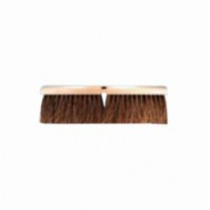 PFERD Vantage Brush GB-01 Heavy Sweep Garage Broom, 36 in Block, 4 in Stiff Palmyra Trim 12/Box