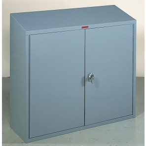 """SLOPE TOP WALL CABINET, Champagne, Size W x D x H: 24"""" x 12"""" x 30"""" (front), 33""""H. (back)"""