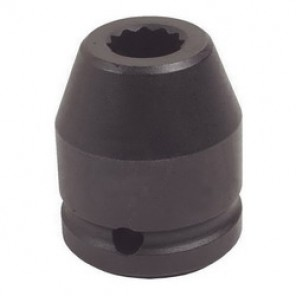 Proto® J07513SS SAE Standard Length Impact Socket, 13/16 in Socket, 3/4 in Drive, 2 in OAL, Alloy Steel