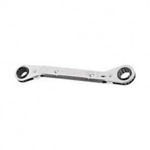 Proto® J1179T Double End Reversible SAE Ratcheting Box Wrench, 7/32 x 9/32 in, 4-1/4 in OAL, 12 Points, Steel