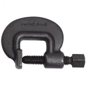 Proto® J11/2-HD Heavy Duty C-Clamp, 1-3/8 in Throat Depth, 5/8 in Clamping, 1-3/4 in, 5/8 in Screw