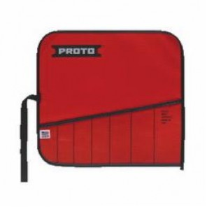 Proto® J25TR07C Tool Roll, 7 Pockets, For Use With J1300A Open End Wrench Set, Canvas/Vinyl, Red