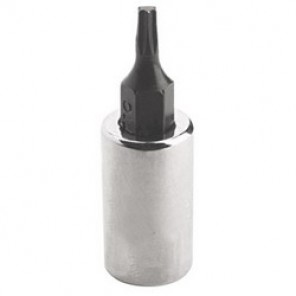 Proto® J4739-10W SAE Deep Length Socket Bit, T10 Bit, 1/4 in Square Drive, 5/8 in Bit Length