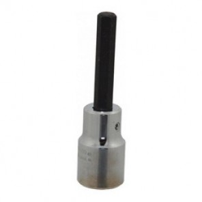 Proto® J5441-6M Metric Standard Length Socket Bit, 6 mm Bit, 1/2 in Square Drive, 1-3/4 in Bit Length