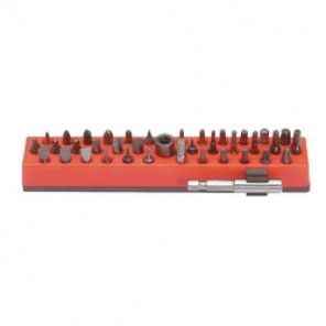 Proto® J61906 Insert/Power Bit Set, 38 Pieces, 1 - 2-1/4 in OAL, 1/4 in Drive