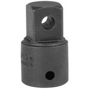 Proto® J7651 Impact Socket Adapter, 1-7/16 in OAL, 1/2 in Female x 3/8 in Male Adapter