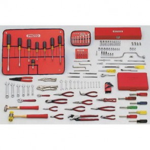 Proto® J99100 SAE Small Master Tool Set, 131 Pieces, For Use With 5/64 - 3/4 in Fasteners, 1/4 in Drive