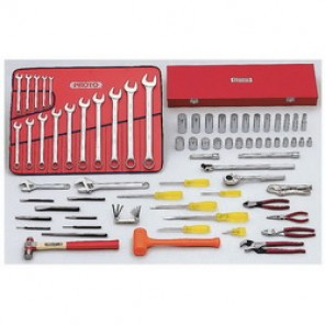 Proto® J99300 SAE Starter Master Tool Set, 78 Pieces, For Use With 5/16 - 1-1/4 in Fasteners, 1/2 in Drive
