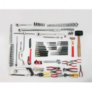 Proto® J99665 SAE Master Tool Sub Set, 106 Pieces, 1/2 in Drive
