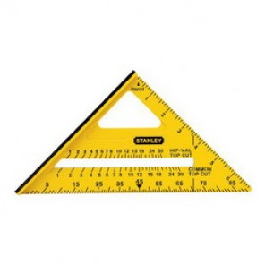 Stanley® STHT46010 Dual Color Square, 7 in, 1/8ths, 90 deg, ABS