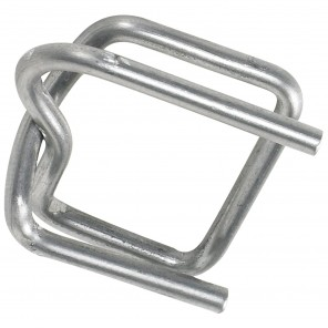 """Box Partners PS12BUCK 1/2"""" Wire Poly Strapping Buckles, 1000/CS"""