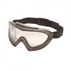Pyramex® Capstone® 500 Direct/Indirect Protective Goggles, Universal, Gray Frame, Anti-Fog, Scratch-Resistant Clear Lens