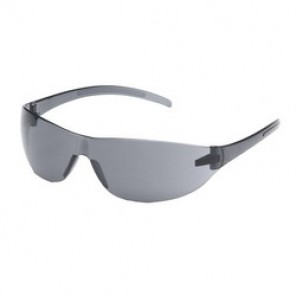 Pyramex® S3220S Fashionable Economy Protective Glasses, Universal, Frameless, Scratch-Resistant Gray Lens
