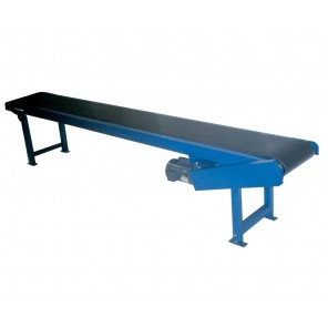 "HEAVY DUTY SLIDER BED POWER CONVEYOR, Bed: 16"", Belt Width: 12', 5' Base Length"