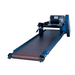"SLIM LINE POWER CONVEYOR, Bed: 7"", Belt Width: 6"", 5' Base Length"