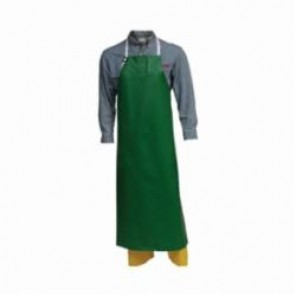Tingley Safetyflex® A41008.MD Bib Apron, Green, 17 mil Polyester, 4 ft L