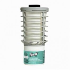 Scott® 12369 Continuous Air Freshener Refill, 4.4 in H x 2.3 in W x 2.3 in D, Natural Scent, Clear