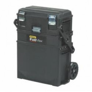 Stanley® FatMax® 020800R Mobile Workstation, 24.8 in H x 16.2 in W x 21.6 in D, Structural Foam