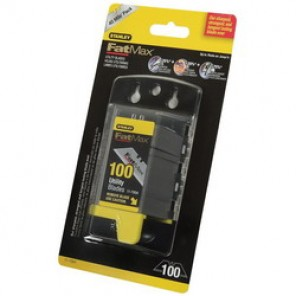 Stanley® FatMax® 11-700A All Purpose Utility Knife Blade, 2-7/16 in, 0.024 in THK, High Carbon Tool Steel