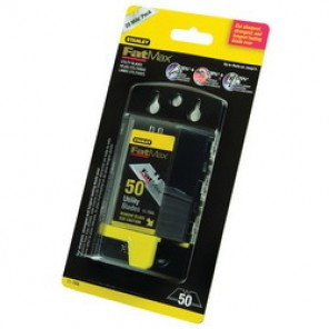 Stanley® FatMax® 11-700L All Purpose Utility Knife Blade, 2-7/16 in, 0.024 in THK, High Carbon Tool Steel