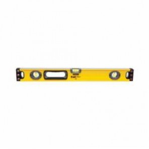 Stanley® FatMax® 43-524 Non-Magnetic Single Piece Box Beam Level, 24 in L x 2.6 in W x 1-3/16 in H, 3 Vials