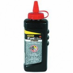 Stanley® FatMax® Xtreme® 47-821 Chalk Refill, Red, 8 oz, Container