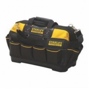 Stanley® FatMax® 518150M Open Mouth Tool Bag, 19 in L x 10 in W x 12 in H, Polyester