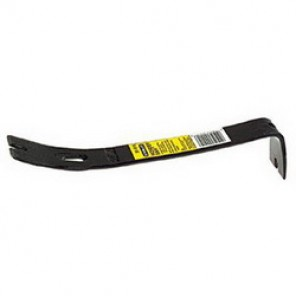 Stanley® Wonder Bar® 55-515 Pry Bar, 1-3/4 in W x 12-3/4 in L, Offset Chisel, Right Angle, Flat Claw Tip