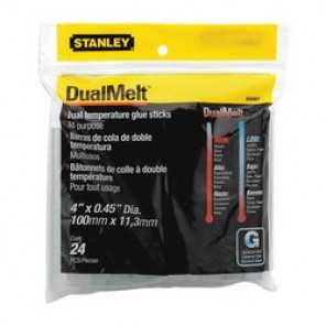 Stanley® GS20DT All Purpose Dual Temperature Glue Stick, 0.45 in dia x 4 in L, 365 deg F