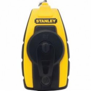 Stanley® STHT47147 Compact Chalk Reel, 30 ft Line Length Aluminum Line, Slide-Open Door
